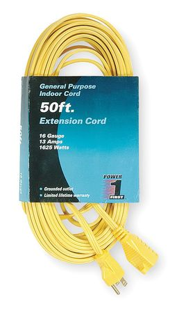50 ft. 16/3 Extension Cord SPT-2