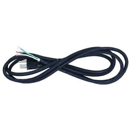 Power Cord, 5-15P, SJO, 8 ft., Blk, 10A, 18/3
