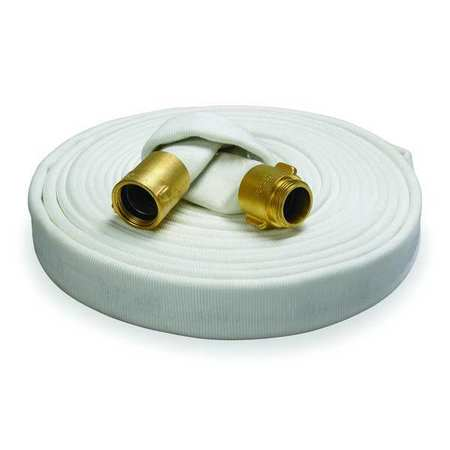 Reel Fire Hose, Dia. 2-1/2 In., 100 ft. L
