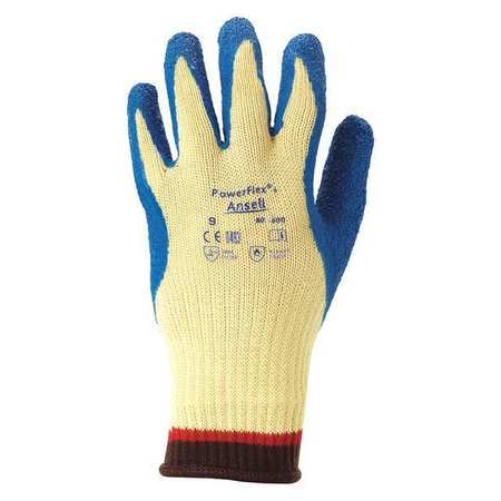 Cut Resistant Gloves, Yellow/Blue, XL, PR