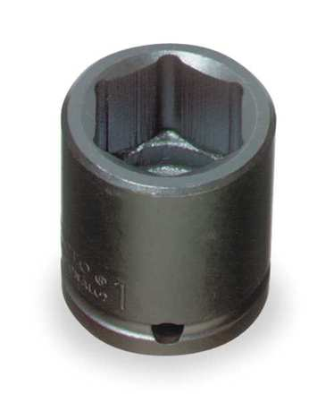 Impact Socket, 1/2 In Dr, 1-7/16 In, 6 pt