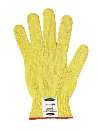 Cut Resistant Gloves, Yellow, XL, PR