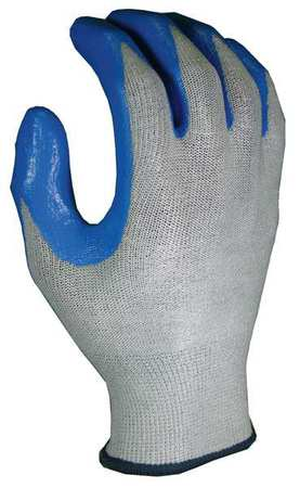 Cut Resistant Gloves, Blue/Gray, XL, PR