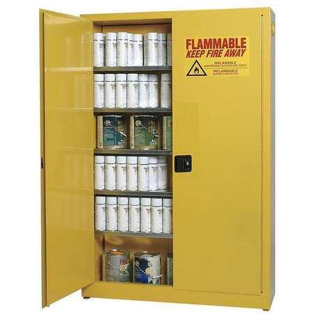 Aerosols Aerosols Cabinet, 30 Gal., Yellow