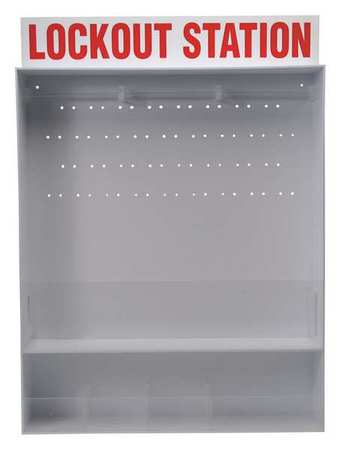 Lockout Station, Unfilled, 30 In H