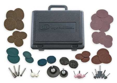 Die Grinder Accessory Kit, 50 Pc, w/Case