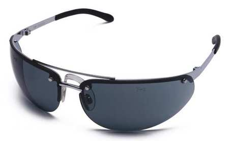 Condor Gray Safety Glasses,  Scratch-Resistant,  Wraparound