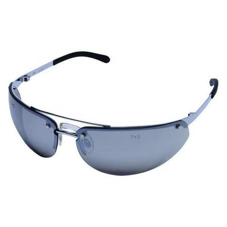 Condor Silver Mirror Safety Glasses,  Scratch-Resistant,  Wraparound
