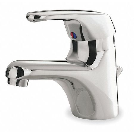 Bathroom Faucet Standard Spout,  Chrome,  1 or 3 Holes,  Lever Handle