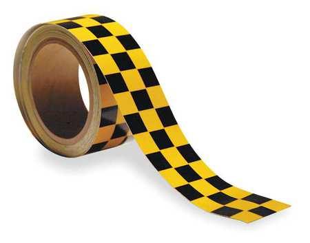 Warning Tape, Roll, 2In W, 30 ft. L