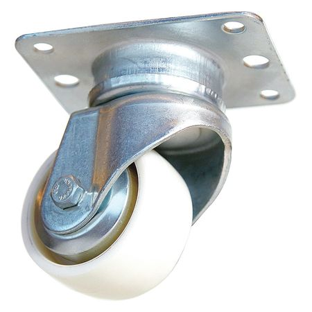 Inverted Air Cargo Swivel Caster, Nylon, 2-9/16 in