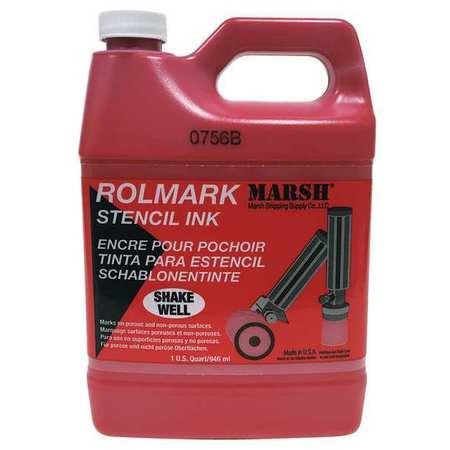 Stencil Ink, Red
