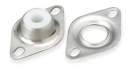 "Flange Bearing, 2-Bolt, Sleeve, 1"" Bore"