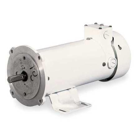 Wshdwn DC Mtr, TEFC, 1 HP, 1750rpm, 180VDC
