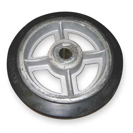 Wheel, 10x2 1/2 In, Mold On Rubber