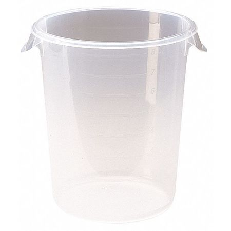 Round Storage Container, 8 qt