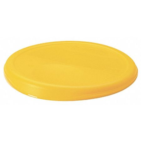 Round Storage Container Lid, Yellow