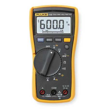 Digital Multimeter, 600V, 40 MOhms, 10A