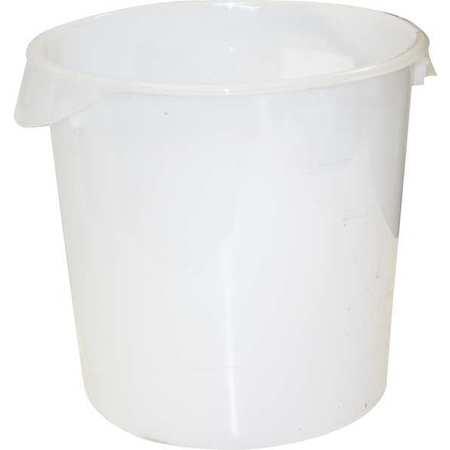 Round Storage Container,  18 qt,  Lid 1GAF5
