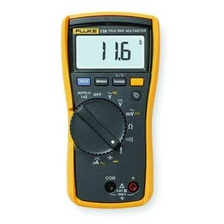 Digital HVAC Multimeter, 600V, 40 MOhms