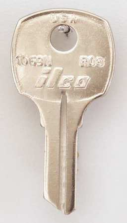 Key Blank, Brass, Type RO3, 5 Pin, PK10