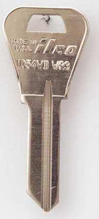 Key Blank, Brass, Type WR3, 5 Pin, PK10