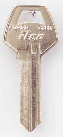 Key Blank, Brass, Type CO88, PK10