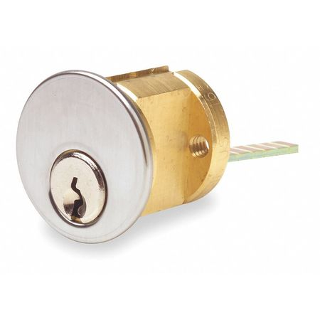 Kaba Ilco Lockset Cylinder Satin Chrome Keyway Type