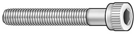 "#4-40 x 1"" 18-8 Stainless Steel Vented Socket Head Cap Screw"