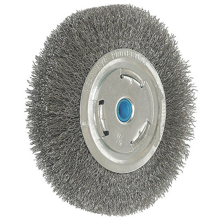 "Crimped Wire Wheel,  10"" Dia,  0.0140 Wire"