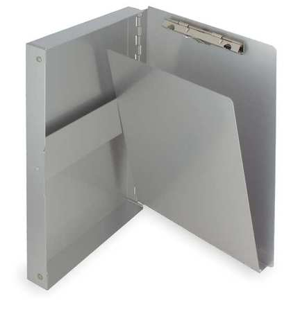 Portable Storage Clipboard, Memo, Silver