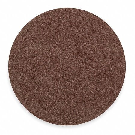 PSA Sanding Disc, AlO, Cloth, 12in, 50 Grit