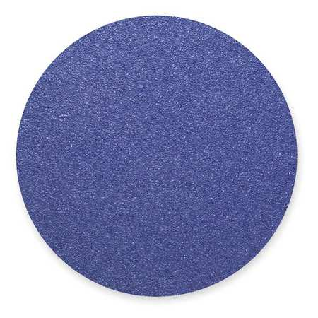 PSA Sanding Disc, ZircAlO, Cloth, 12in, 36G