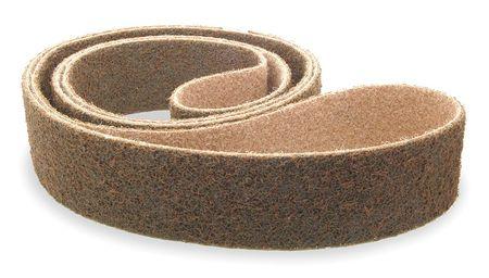 Sanding Belt, 6 Wx48 in L, NonWoven, ZA, CRS