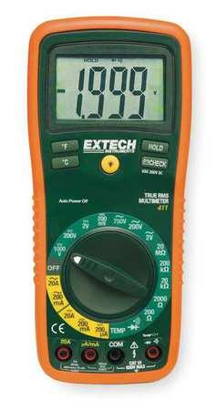 Digital Multimeter, 750V, 20A, 20 MOhms