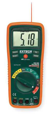 Digital Multimeter, 750V, 20A, 40 MOhms