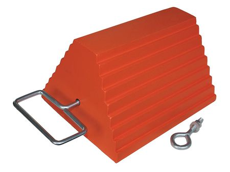 Wheel Chock, 10 In W x 6  In H