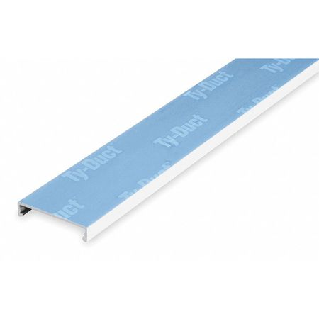 Wire Duct Cover, White, Width 4.25 In