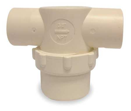 "Line Strainer, Low Profile, 3/8"", FNPT"
