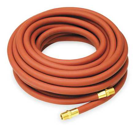 "3/8"" ID x 50 ft PVC Coupled Air Hose 300 PSI RD"