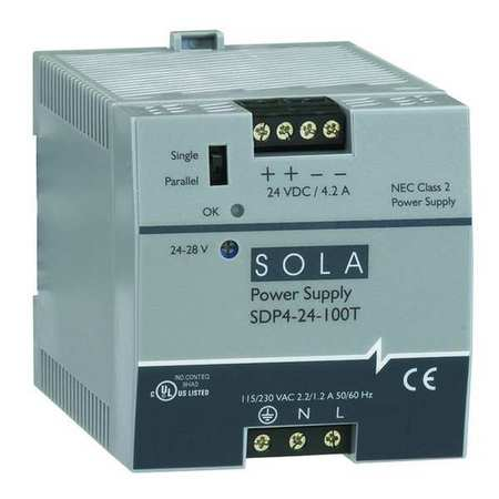 DC Power Supply, 24-28VDC, 3.8A, 60Hz