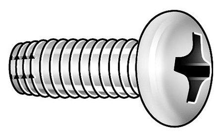 Screw, Thd Cut, 10-24x5/8 In, PK100
