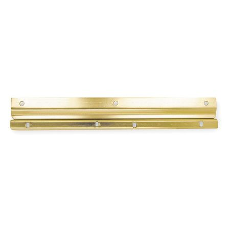 Latch Guard,  Brass,  12  x 1-1/8 In.