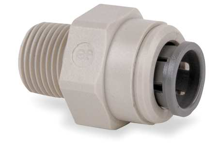 Adapter, 3/8 In Tube OD, PK10