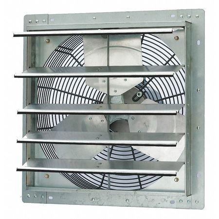 Exhaust Fan, 18 In, 115V, 1/4hp, 1725rpm