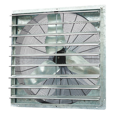 Exhaust Fan, 36 In, 115V, 1/2hp, 825rpm