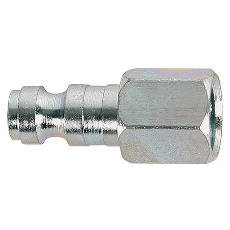 Coupler Plug, (F)NPT, Steel