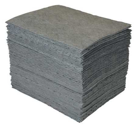 Absorbent Pads, 30 gal., 19 In. L, PK100