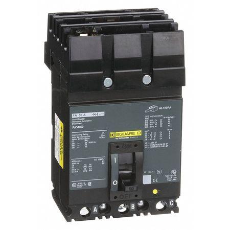 3P Standard Circuit Breaker 60A 480VAC
