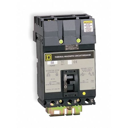 3P High Interrupt Capacity Circuit Breaker 100A 600VAC